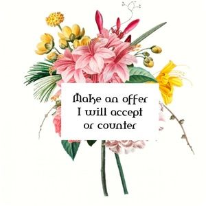 🌷All reasonable offers accepted